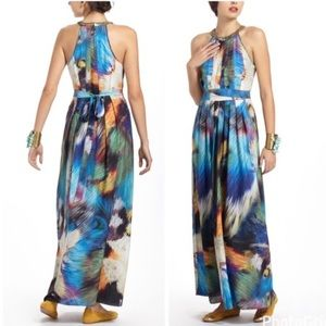 Anthropologie Ranna Gill Multicolored Maxi Dress